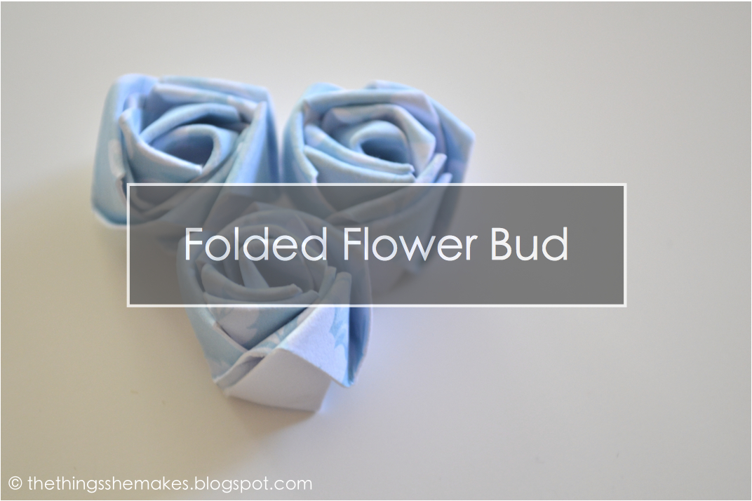 How To Make A Paper Flower Bud The Things She Makes