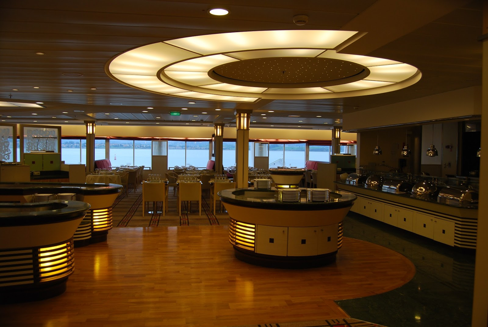 Brittany Ferries Restaurant Le Flora On Board Pont Aven