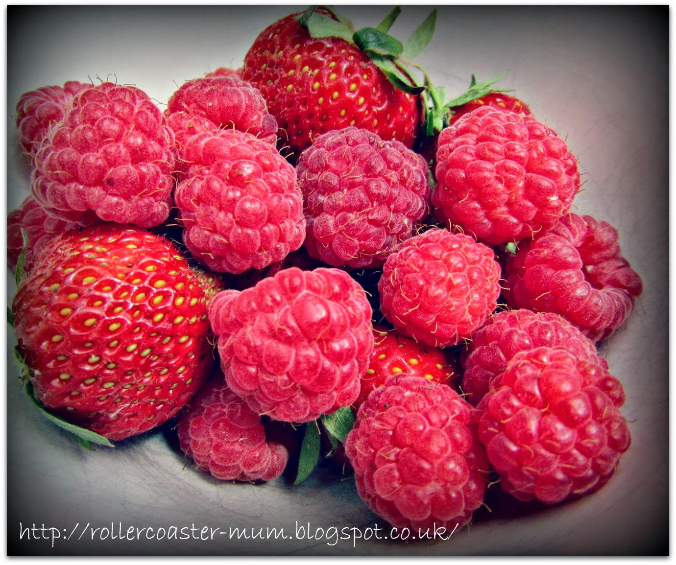 Grow Your Own, raspberries and strawberries