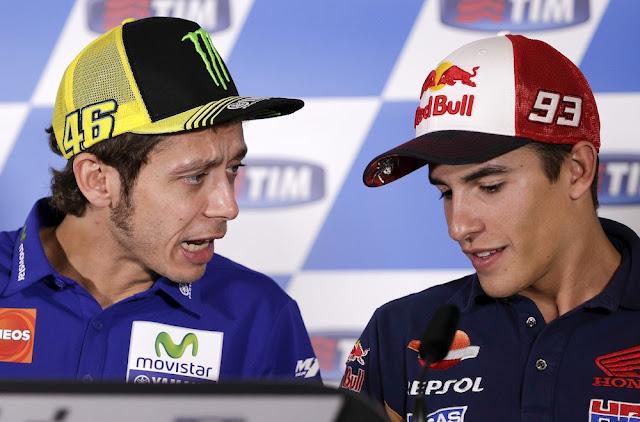 Marc Márquez rompe definitivamente con Rossi