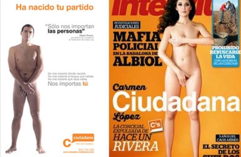 Siguen Los Desnudos En Ciudadanos Ahora Es La Concejala De