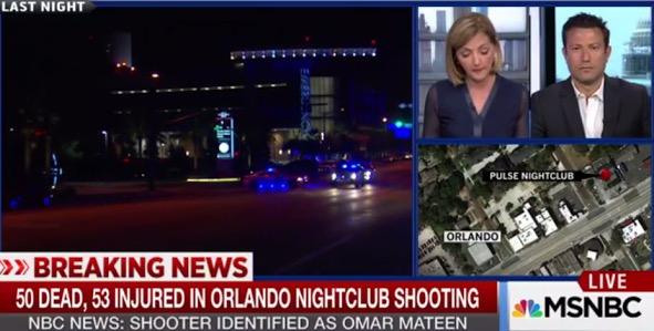 Insiden Tembakan Di Kelab Gay Orlando, 50 Maut