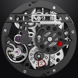 Calibre de manufacture HUB1201 face