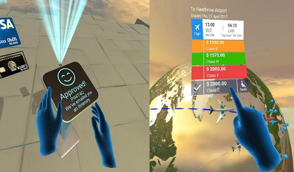 Realidad virtual para buscar vuelos - Las Mejores Ideas de Negocios e Innovaciones del Año