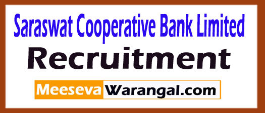Saraswat Cooperative Bank Limited SCBL Recruitment