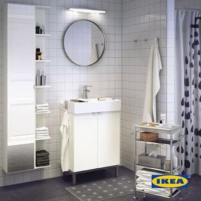 Membuat Desain Kamar Mandi Lebih Indah Dengan IKEA