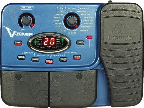 Bass v-amp/bass v-amp pro, appendix | behringer bass v-amp pro.