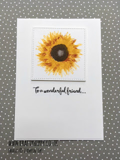 Make a gorgeous greetings card using the Painted Harvest Stamp Set by Stampin' Up!