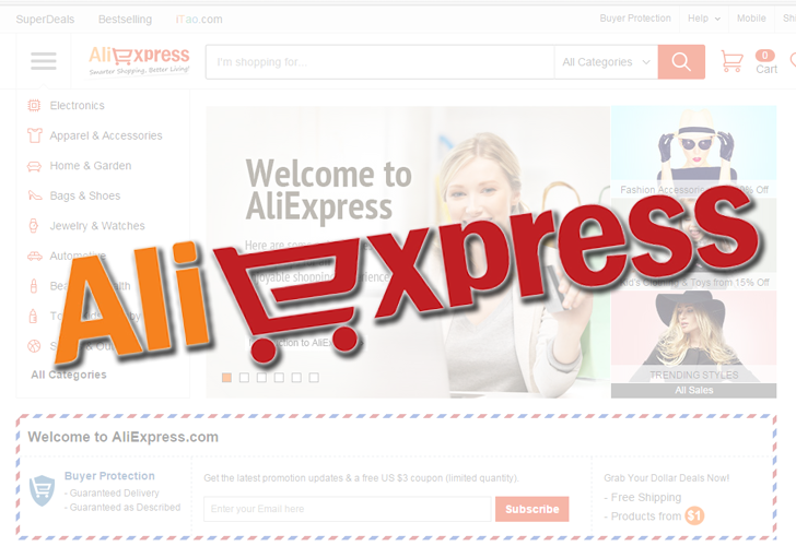 AliExpress WebSite Vulnerability Exposes Millions of Users' Private Information