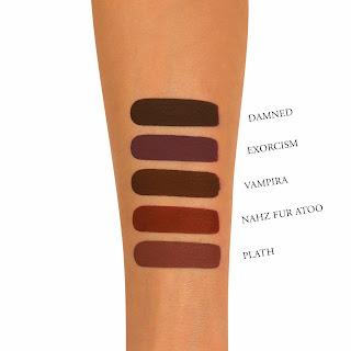 Kat Von D Liquid Lipstick Damned Swatch