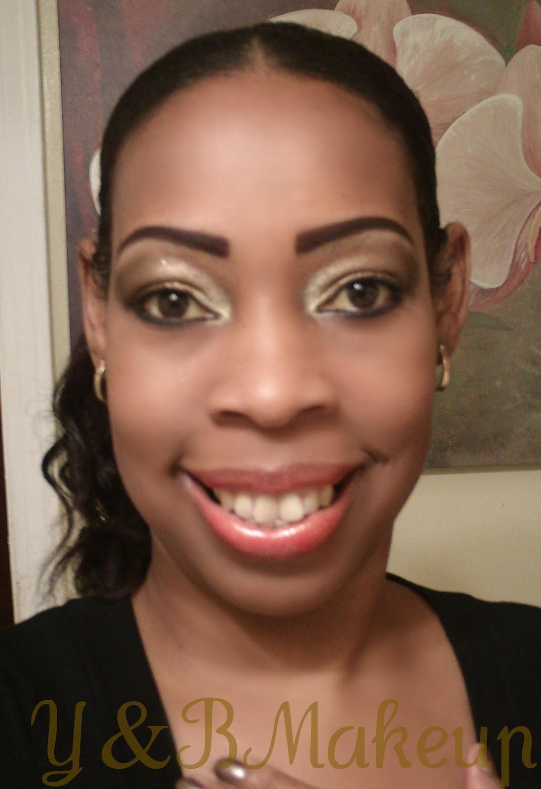 Young And Beautiful Makeup: LOTD: Golden