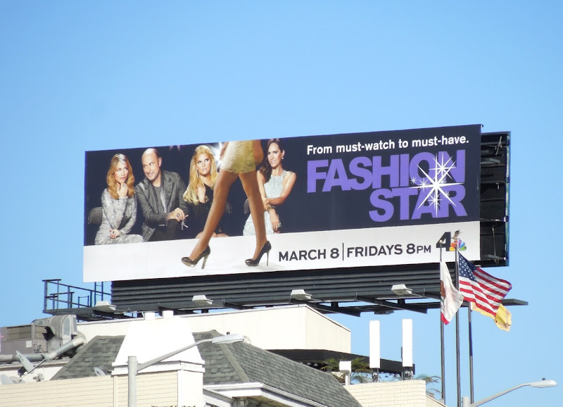 Fashion Star 2 NBC billboard