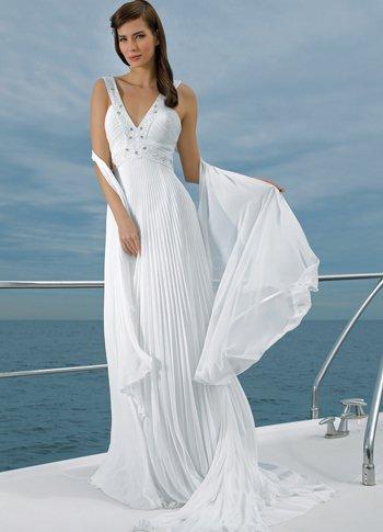 Women trend wedding ideas for Beach wedding dresses for older brides
