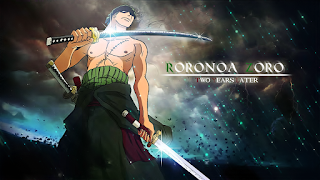 Wallpaper Roronoa Zoro