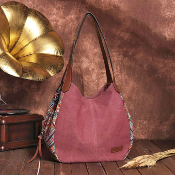 Vintage Leather Tote Multifunction handbags fashion