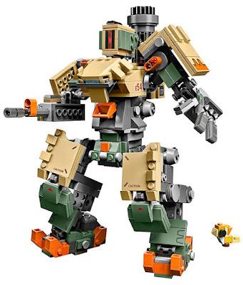LEGO : Overwatch 75974 Bastion Producto Oficial 2019 | Piezas: 602 | Edad: +10 años COMPRAR ESTE JUGUETE