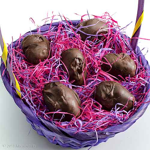 Buttercream Candy Easter Eggs