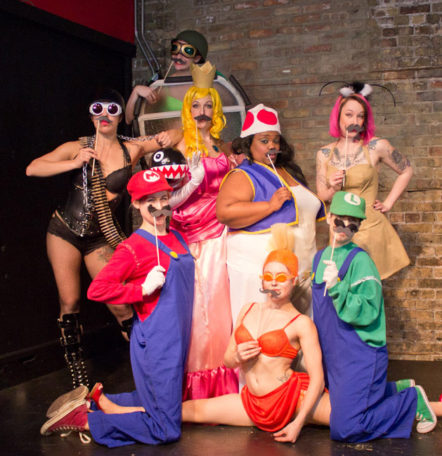 ACT OUT OPENING: Boobs and Goombas, A Super Mario Bros Burlesque Returns to  Bucktown!