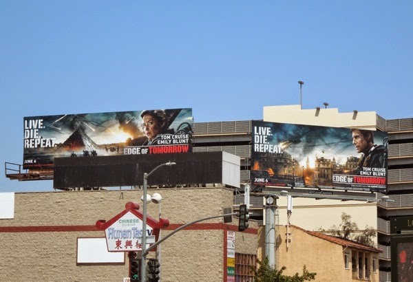 Edge of Tomorrow movie billboards