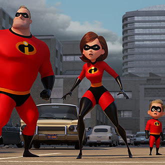 Review Film Incredibles 2 :  Film Animasi yang Kocak dan Super Seru