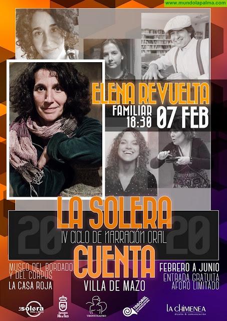 Villa de Mazo estrena la cuarta edición del ciclo 'La Solera Cuenta' en el marco de las fiestas en honor a San Blas