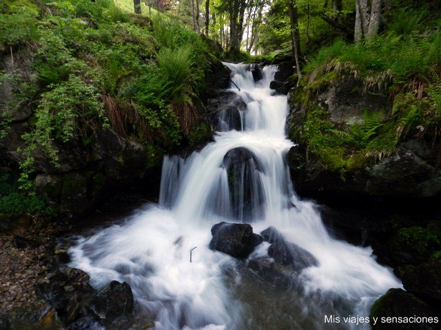 La Cascada de Todtnau, Selva Negra, Alemania