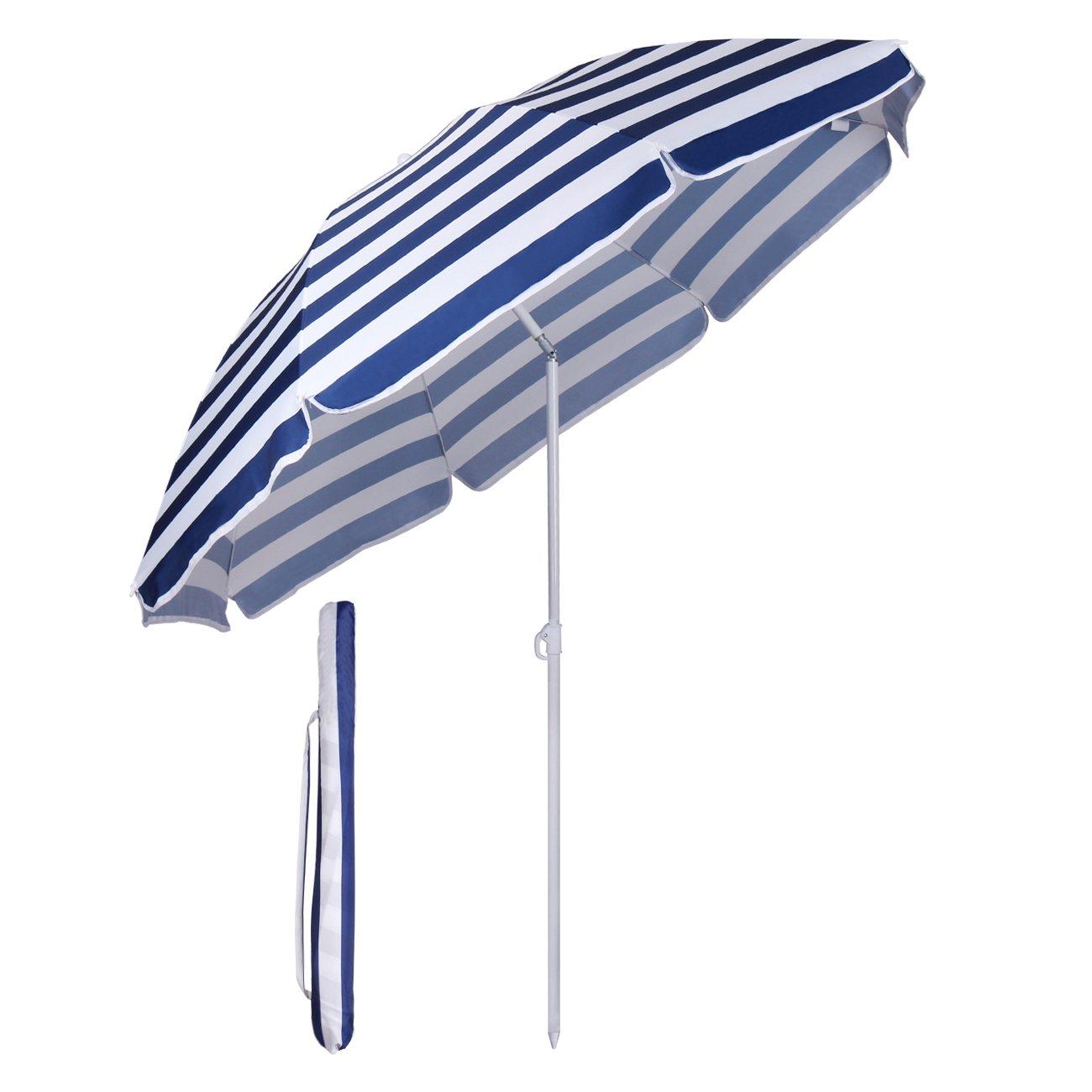 Sekey Ombrellone Spiaggia Parasole Protezione Solare UV20+