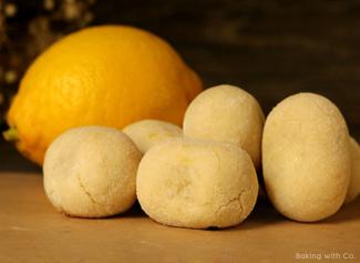 receta panellets limón / recepta panellets llimona
