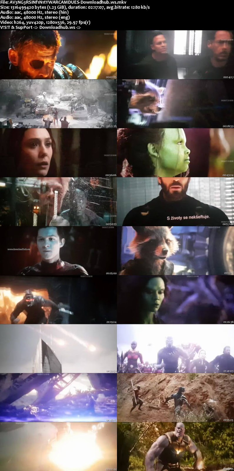 avengers infinity war full movie download in hindi hd 720p