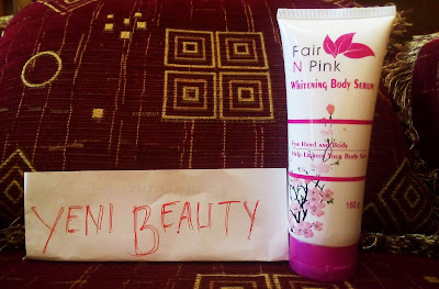 Fair n Pink Body Whitening Serum