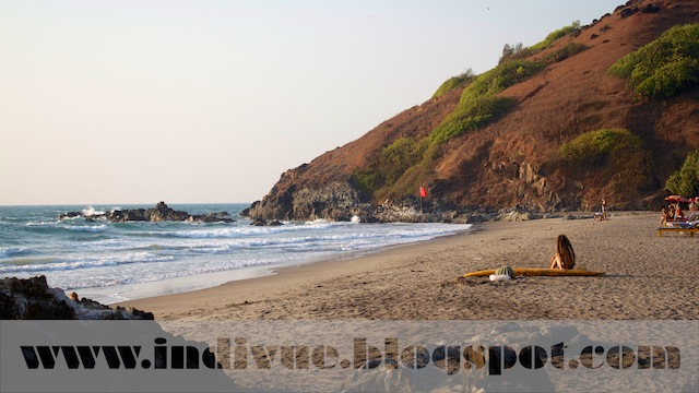 Little Vagator Beach, Goa, Intia