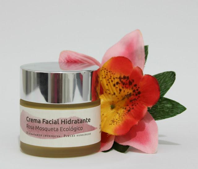crema facial de Rosa Mosqueta