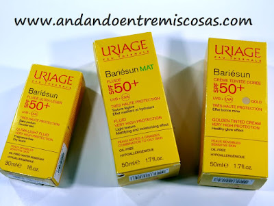 Productos solares Uriage