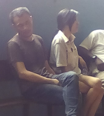 Chinese Lovers Fight In Lagos Court (Photo)