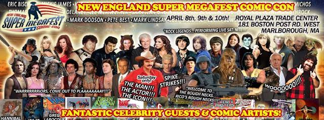 Super Megafest Comic Con Spring Spectacular