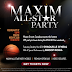 .@maximeventsca All Star Party in Toronto featuring Shaquille O'Neal and Snoop Dogg