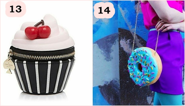 Bolsa criativa Donuts e cupcake