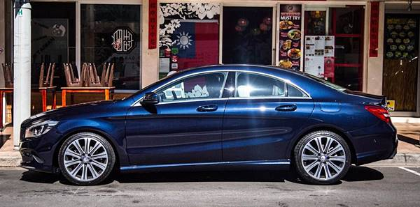 2018 Mercedes-Benz CLA200 Sedan Update
