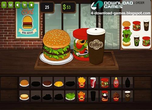 لعبة طبخ البرجر Burger Chef للكمبيوتر - اندرويد - ايفون
