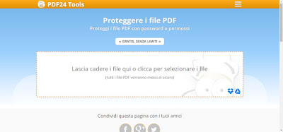 Sito PDF24 Tools