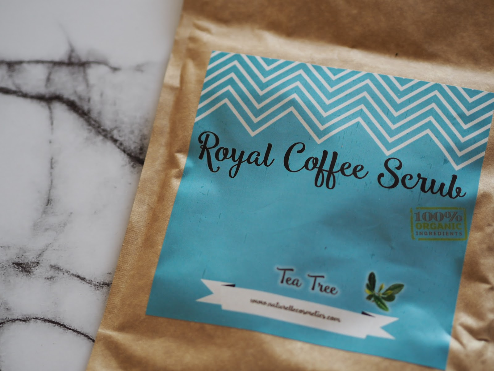Royal Coffee Scrub Tee Tree