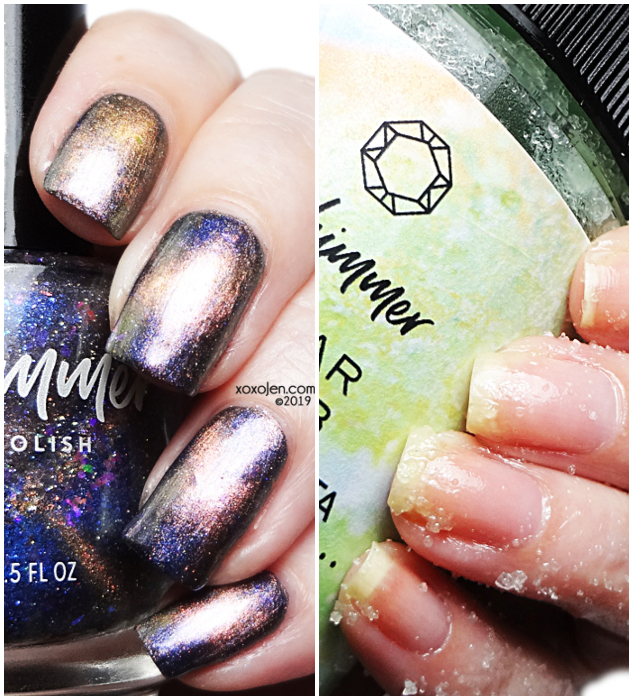 xoxoJen's swatch of KBShimmer PPU & IPU September 2019