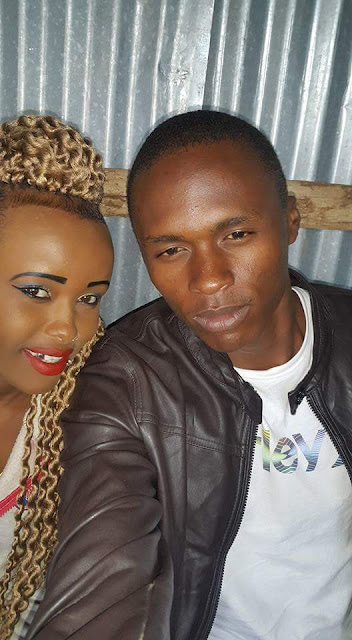 Clare Mwaniki and her husband Mwaniki