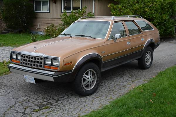 1982 AMC Eagle 4X4 Wagon
