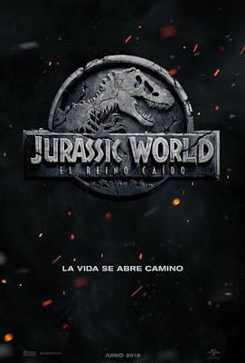 Póster en español de Jurassic World: El Reino Caído