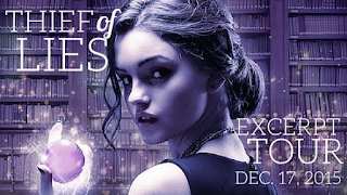 Thief of Lies Excerpt Tour banner