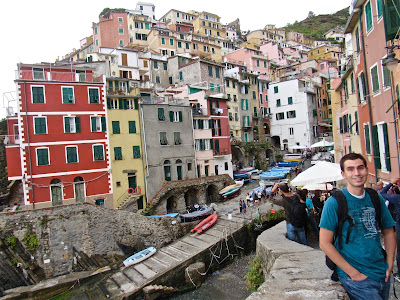Backpacking in Cinque Terre