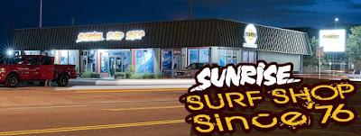 Sunrise Surf Shop Exterior