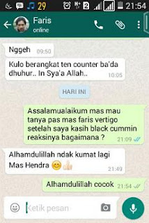 Testimoni Black Cummin