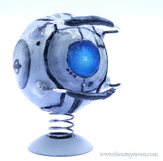 Wheatley Bubblehead from Portal 2 by TheArtsyRaven